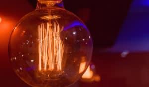 Gros plan sur une ampoule